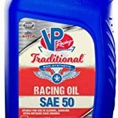 VP SAE 50 Traditional Non Syn Racing Oil Quart Retail Bottle