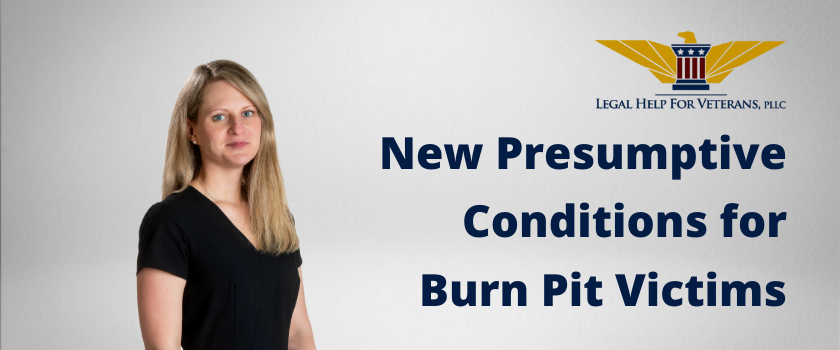 New Presumptive Conditions for Burn Pit Victims Cover