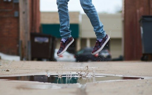 Jumping from Puddle