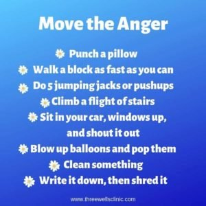 Feel and Release Anger