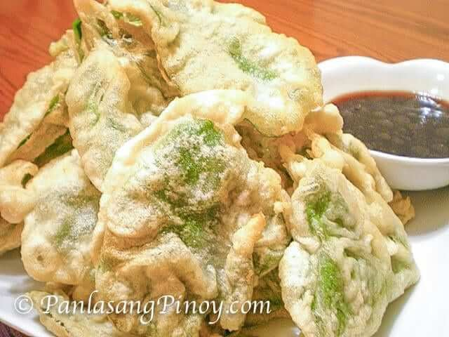 crispy spinach kangkong vegetable chicharon recipe
