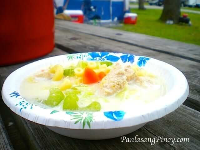 filipino chicken sopas macaroni soup recipe