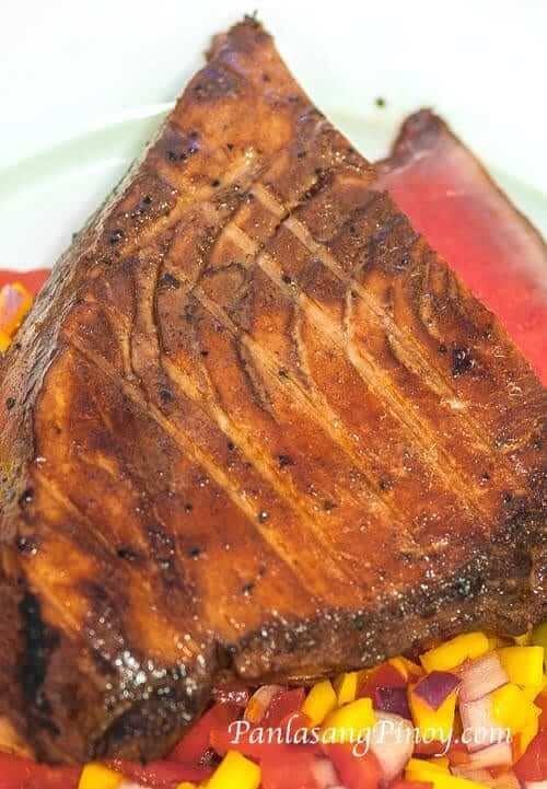 Grilled Ahi Tuna