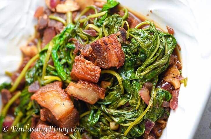 Apan - Apan Adobong Kangkong Recipe