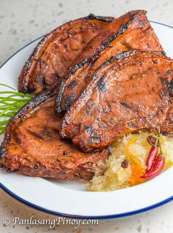 Marinated Grilled Pork Chop Recipe