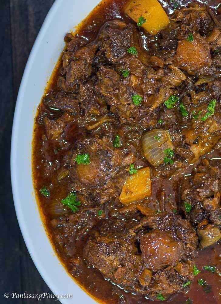 Oxtail Stew Recipe