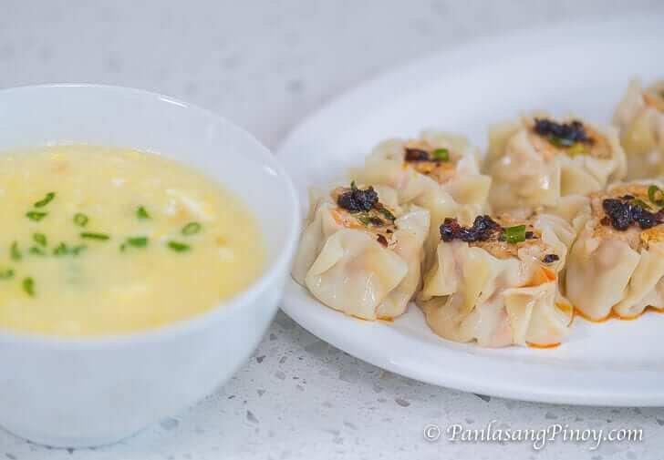 Pork Siomai with Nido Oriental Style Soup-2