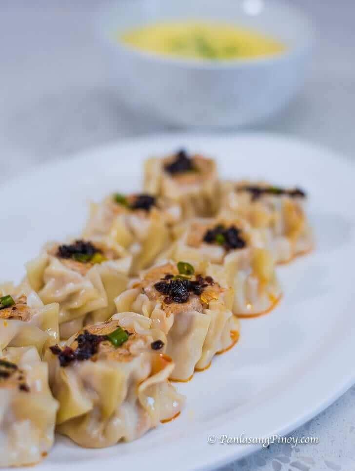 Pork Siomai with Nido Oriental Style Soup Panlasang Pinoy Recipe
