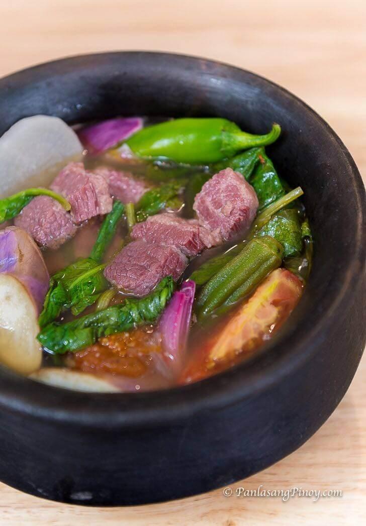 corned beef sinigang recipe panlasang pinoy