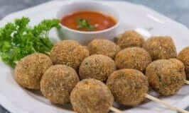 Sardines Fish Ball with Sweet and Sour Sauce
