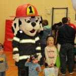family fest fire department with kids