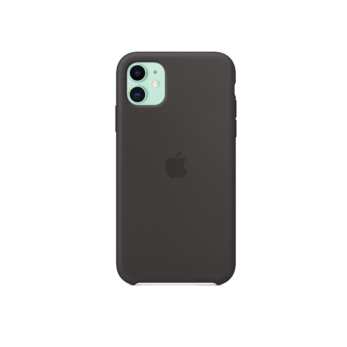 Silicone Case - Black - Apple for iPhone 11