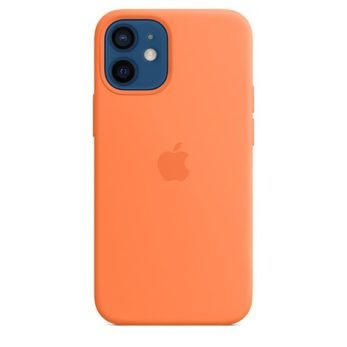 Mini Silicone Case with MagSafe for iPhone 12