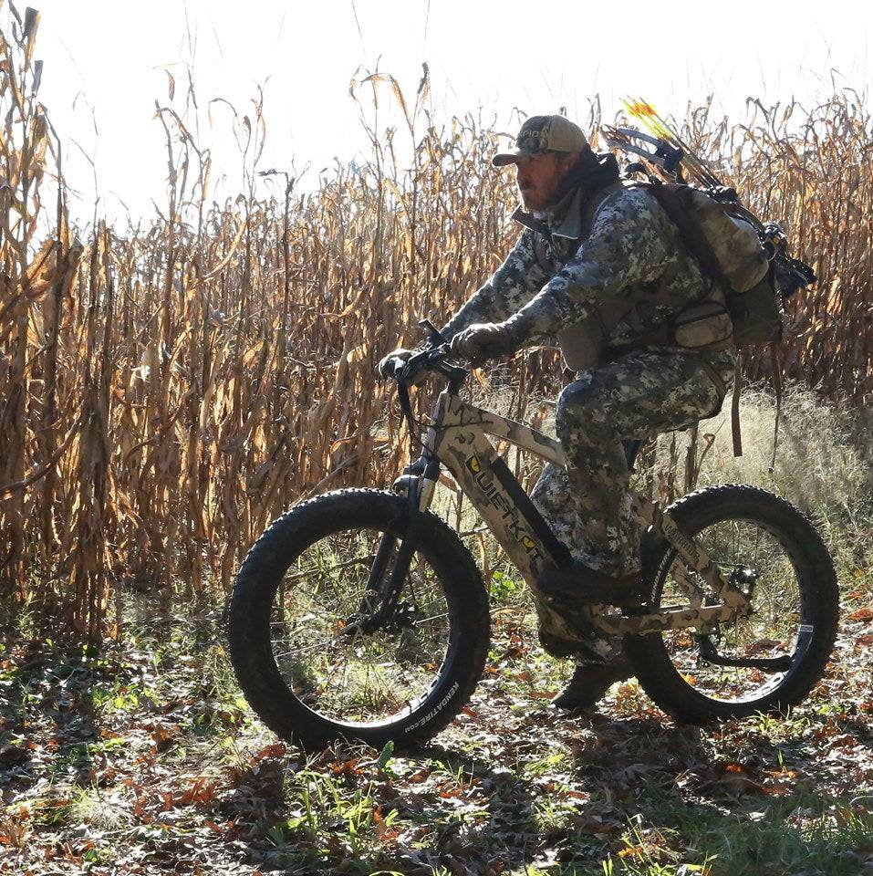 Hunting Land Management for Easy Hunting with eBike