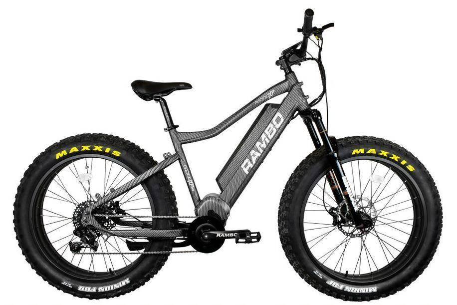 Rambo Rebel 1000W Carbon Electric Hunting Bike