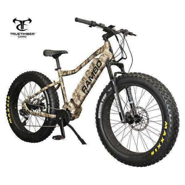 RAMBO BIKES Electric Hunting Bikes