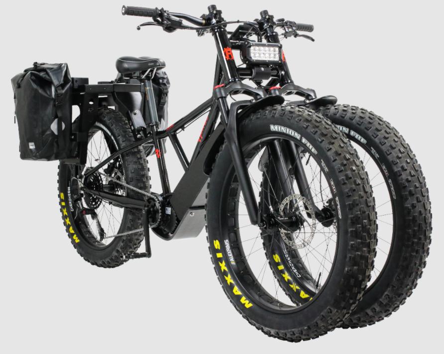BAKCOU Flatlander Electric Hunting Bike