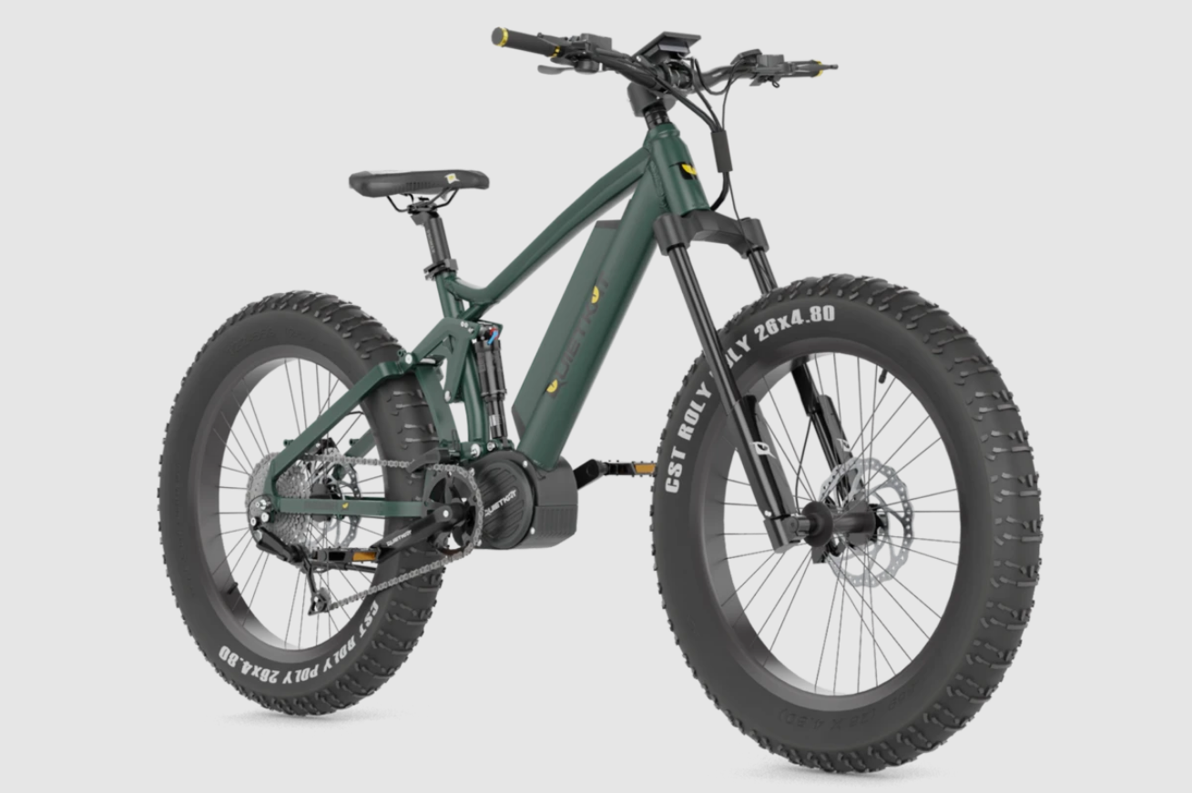 2021 Quietkat RidgeRunner Full Suspension eBike