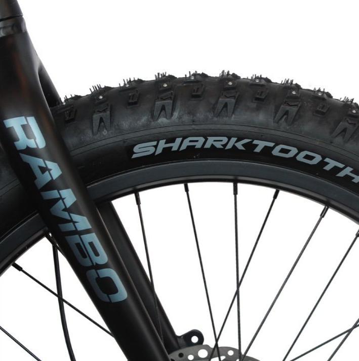 "Arisun Sharktooth 26x4"" Folding Studded Tire"