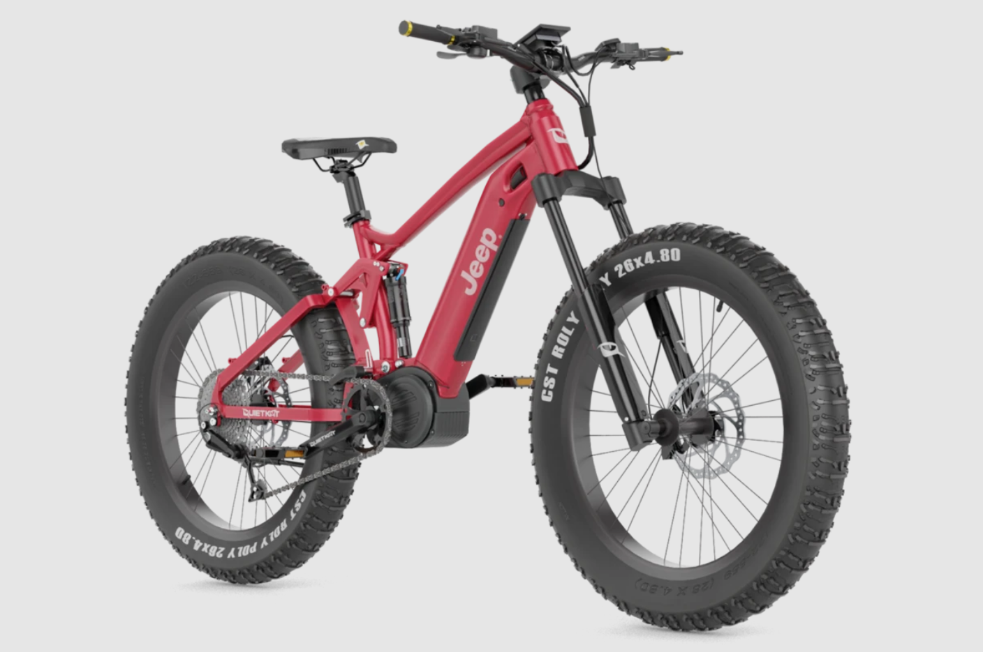 2021 Jeep® e-Bike powered by QUIETKAT
