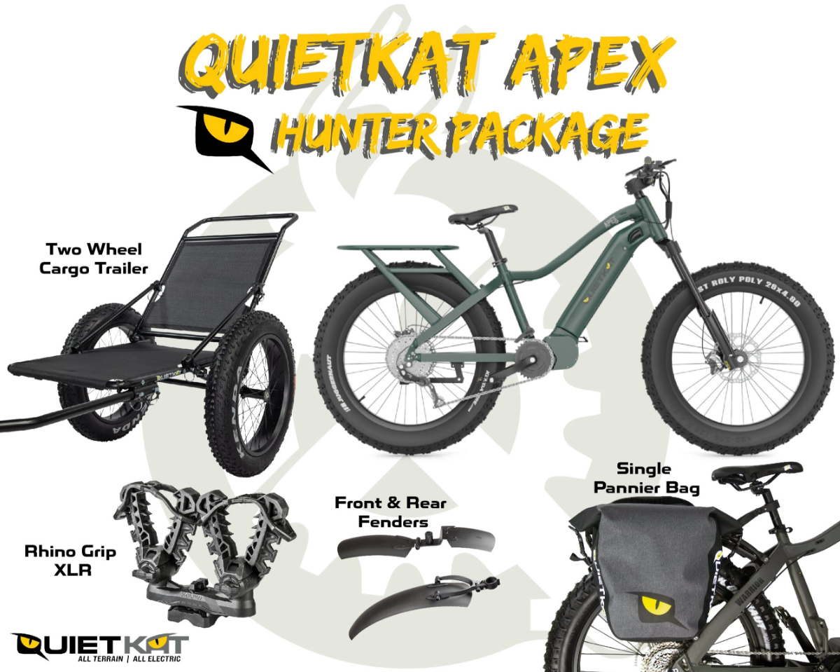 2021 QuietKat Apex Hunter Package