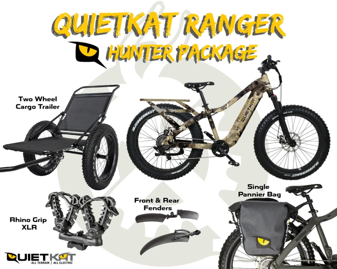 2021 Quietkat Ranger Hunter Package