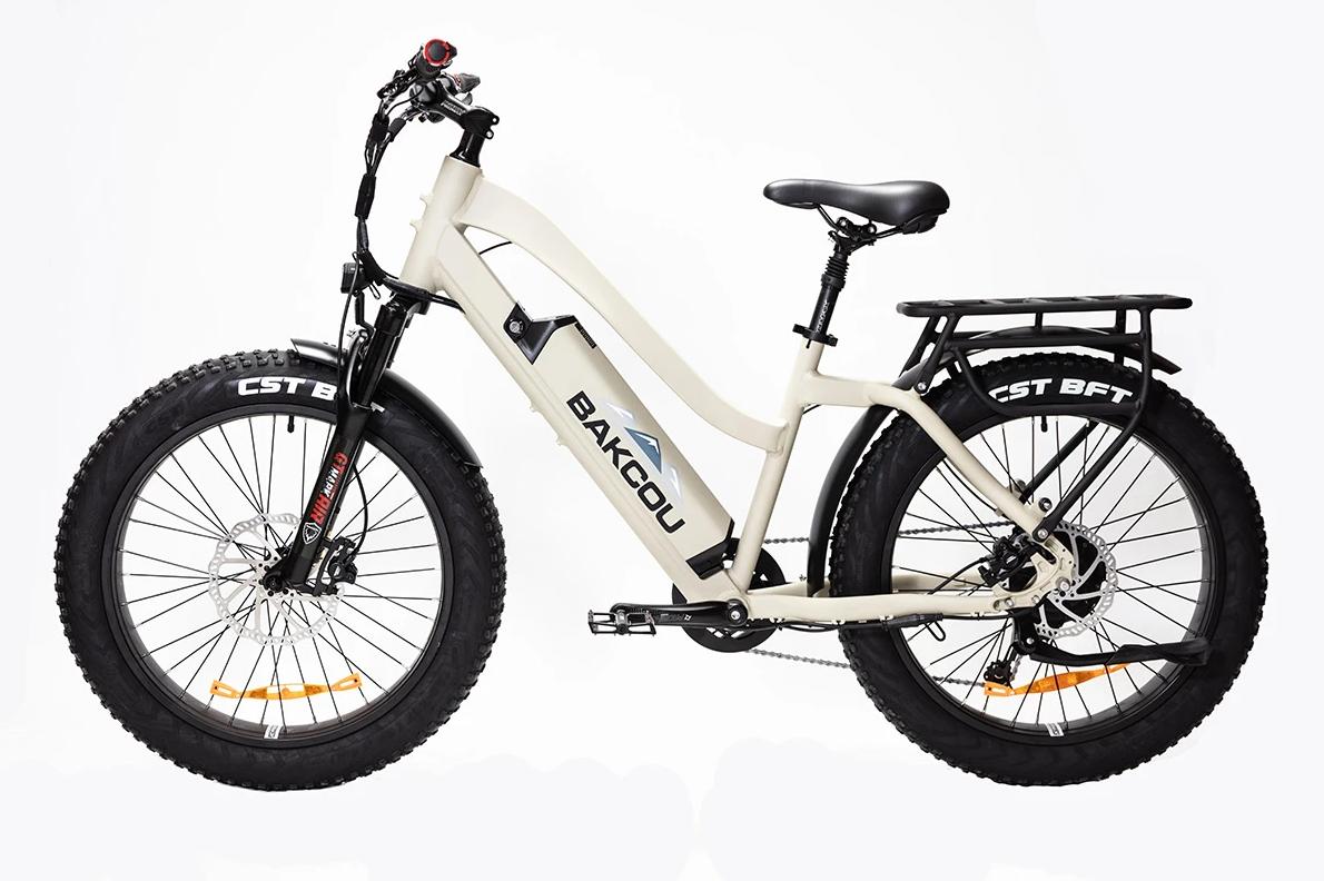 "BAKCOU Flatlander Step-Through 24"" Electric Hunting Bike"