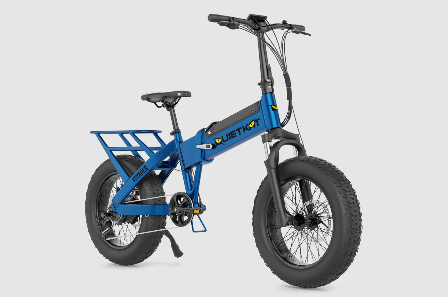 2021 QuietKat Voyager Folding Electric Bike