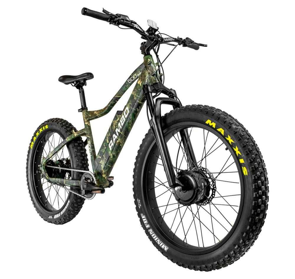 Rambo Krusader 500W Dual Hub Motor Electric Hunting Bike