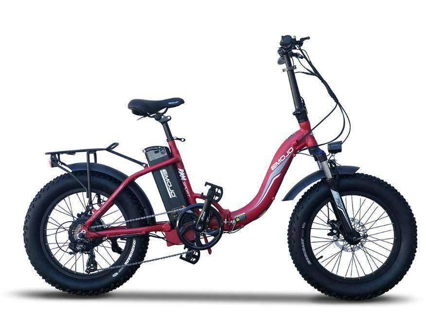 EMOJO RAM Sport 750W Step-Thru Fat Tire Bike