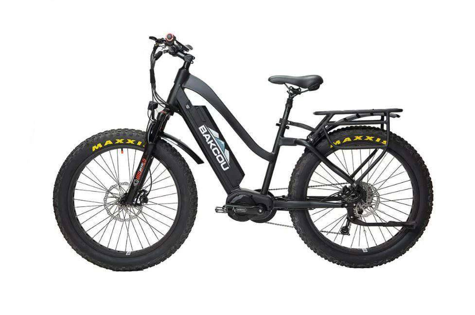 "BAKCOU Mule Step Through 26"" Electric Hunting Bike"