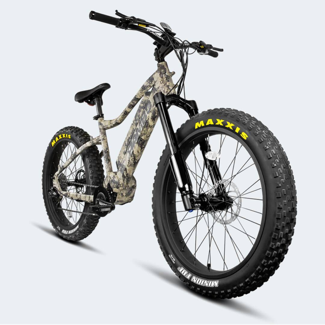 Rambo Nomad 750W XPC11 TrueTimber Camo Electric Hunting Bike