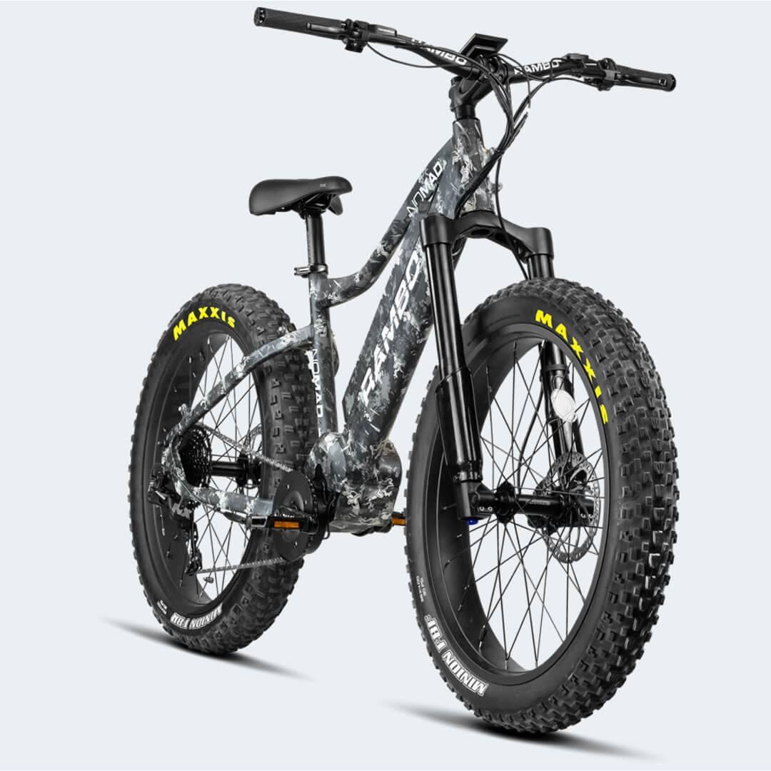 Rambo Nomad 750W XPU11 Urban Electric Hunting Bike