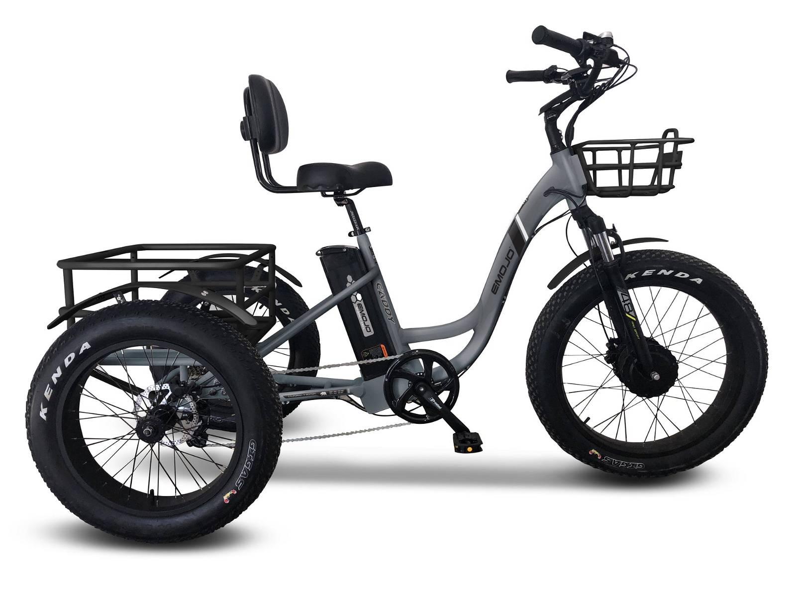 EMOJO Caddy PRO Fat Tire Trike