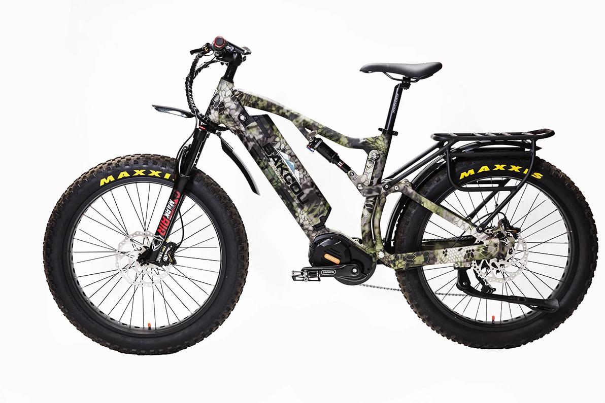 "BAKCOU Storm G2 19"" Frame Electric Hunting Bike"