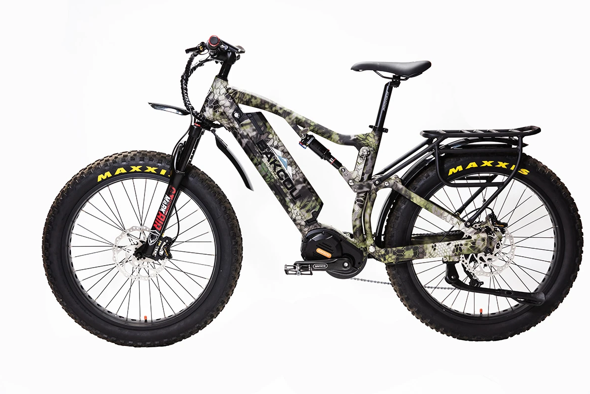 "BAKCOU Storm G2 17"" Frame Electric Hunting Bike"