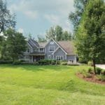 country style custom home