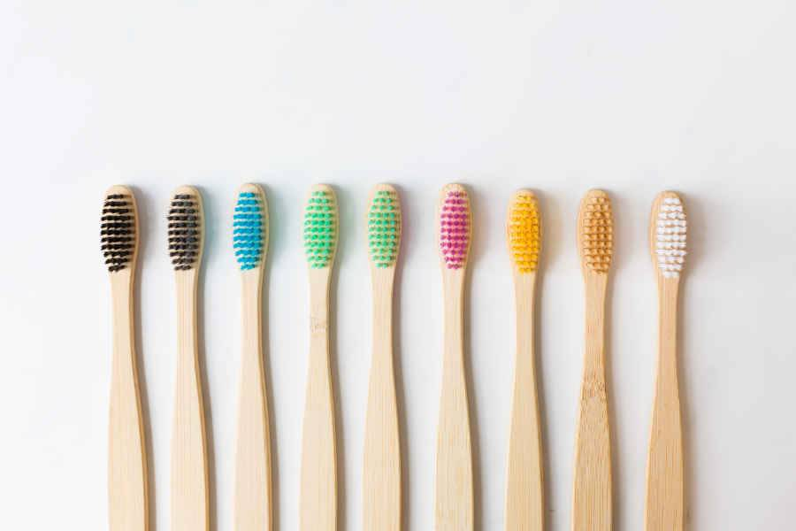 We have a great selection of bamboo toothbrushes