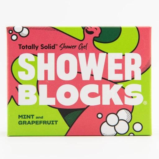Mint and Grapefruit Shower block packaging