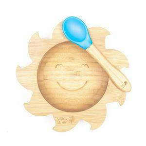 Weaning Bowl and Spoon Set - Bamboo