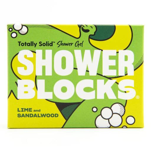 Lime And Sandalwood Shower block packaging