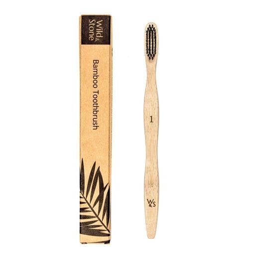 Wild & Stone Toothbrush Adults Bamboo Toothbrush - Medium Firm Bristles