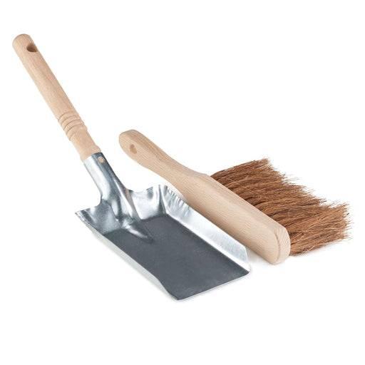 Eco Living Dust Pan & Brush Vintage Dust Pan & Brush - Plastic Free