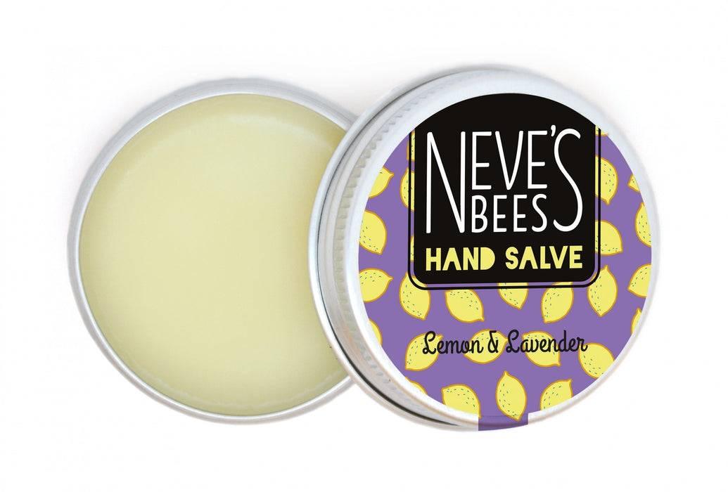 Lemon and Lavender Beeswax Hand Salve