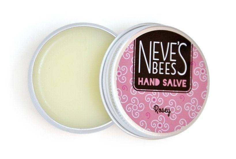 Organic Rosey Beeswax Hand Salve