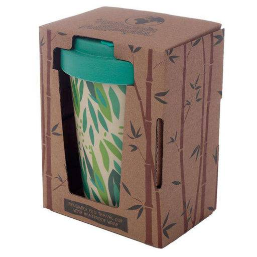 Bamboo Composite Reusable Travel Mug - Willow in packaging