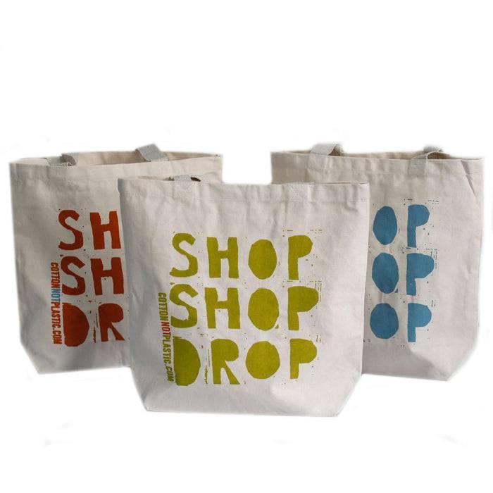 Zero Zen Eco bags Eco Cotton Bags - Shop Shop Drop different colour designs