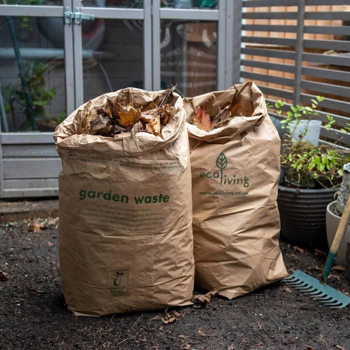 5 Compostable Garden Waste Bags