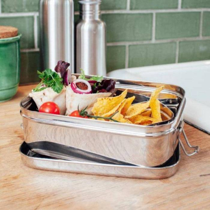 Large Stainless Steel Lunchbox - Elephant Box