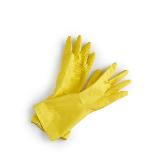 Natural Latex Rubber Gloves - Vegan & Plastic Free Gloves